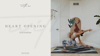 Stackable: Heart Opening