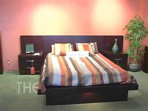 Exceptionnel Light Cappuccino Finished Platform Bedroom Set, From Jessica Collection By  Coaster Furniture