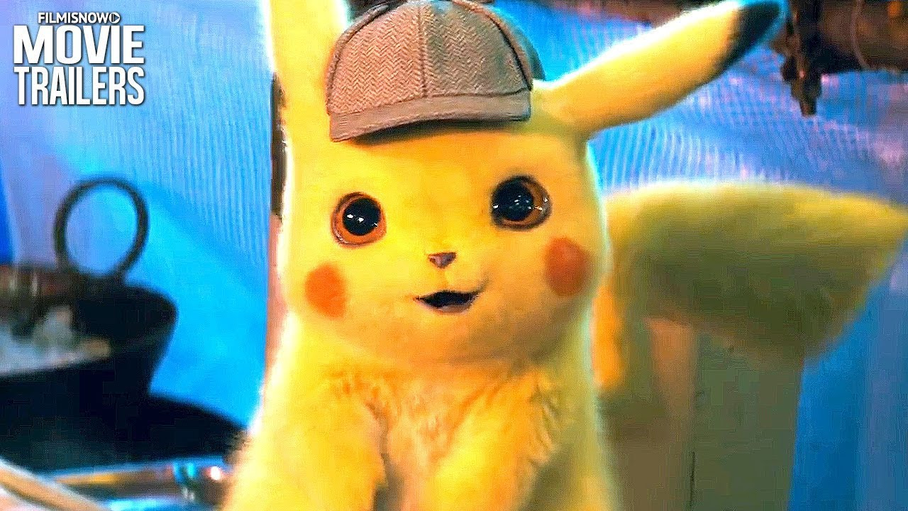 Pokemon Detective Pikachu Trailer New 2019 Ryan Reynolds Movie Youtube