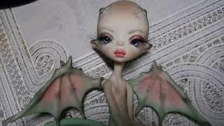 Обзор на бжд рекаст дракончик девочка