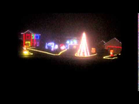 AC/DC - Thunderstruck - Christmas light show