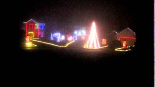 AC/DC - Thunderstruck - Christmas light show