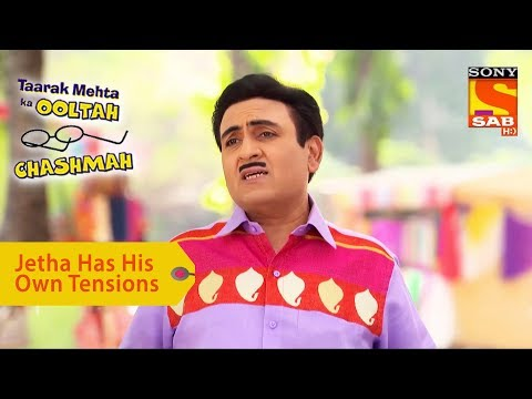 Your Favorite Character | Jethalal Has His Own Tensions | Taarak Mehta Ka Ooltah Chashmah