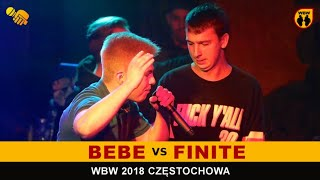 FINITE vs BEBE  WBW 2018  Częstochowa (1/8) Freestyle Battle