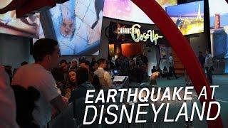 Earthquake at Disneyland !!!! (evacuation) 3/28/2014