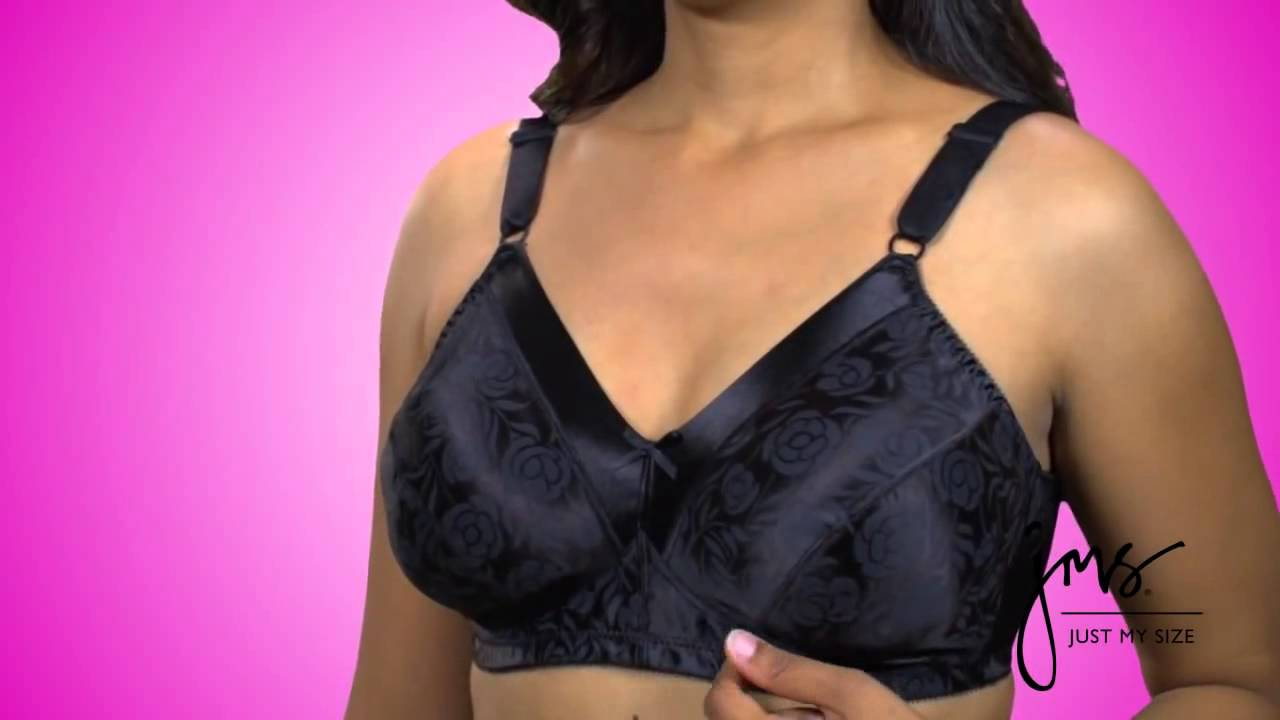 550eb82534 JMS® Satin Stretch Wirefree Bra - YouTube