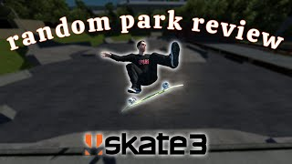Skate 3 But   Review Random Skateparks