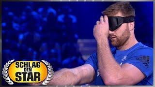 Spiel 11 - Blind pinnen  - Schlag den Star
