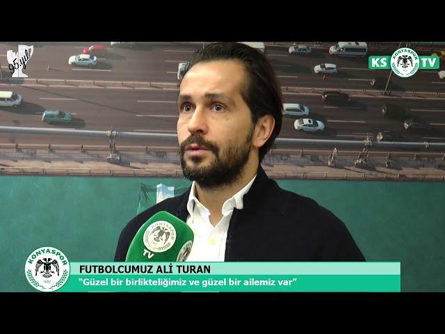 Ali Turan: Altı yıldır bu ailenin bir parçası olduğum için çok gururlu ve onurluyum