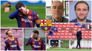 ANÁLISIS Barcelona sigue en crisis y tuvo que conformarse con el empate ante Cádiz | Futbol Center