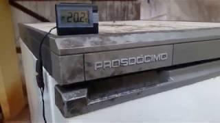 gás R600 no Freezer vertical prosdocimo f21 muito antigo
