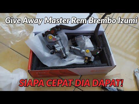 Give Away Master Rem Brembo Izumi - Siapa Cepat Dia Dapat #giveaway