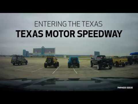 Entering Texas Motor Speedway for the Unlimited Off-Road Show & Expo