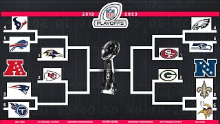 MADDEN PREDICTS THE 2020 NFL PLAYOFFS!