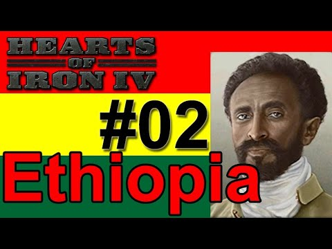 Hearts of Iron IV - Ethiopia - How Long Can I Hold out? #02 |
