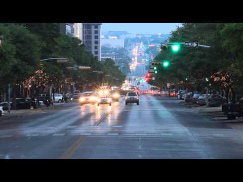 Time Lapse HD Footage from Congress Avenue Austin Texas