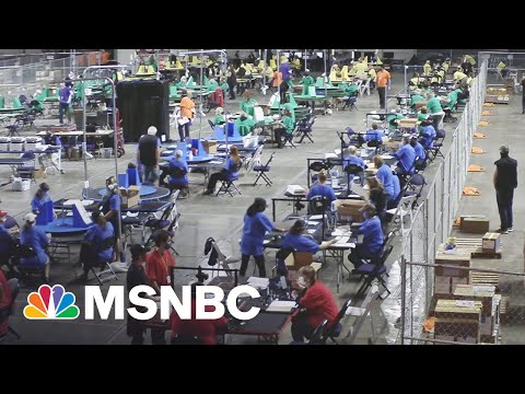 Real Purpose Of Pro-Trump AZ Ballot Circus Seen In Plans To Take It On The Road | Rachel Maddow