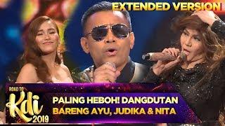 PALING HEBOH! Dangdutan Bareng Judika, Ayu Ting Ting dan Nita Thalia - Road To KDI PART 1