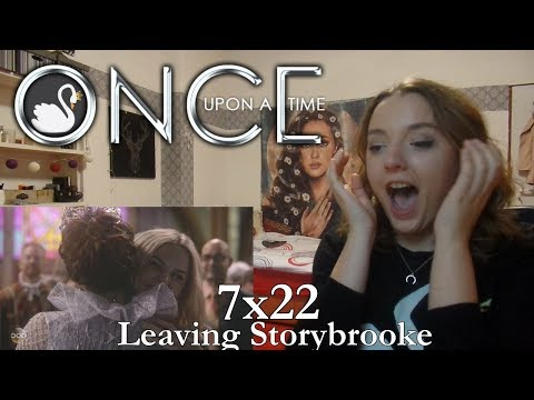 "Once Upon a Time | Reaction 7x22 ""Leaving Storybrooke"" (for SWEN) SEASON FINALE"