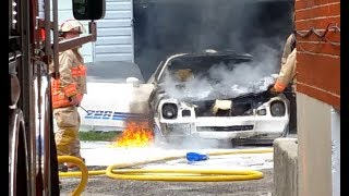 Classic Camaro Z28 DESTROYED by FIRE!!!