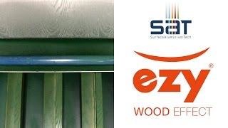 SAT | EZY - Powder on Powder Wood Effect Decoration