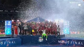 Liverpool Champions League Trophy Celebrations 2019
