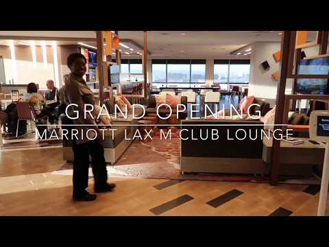 Marriott LAX Grand Opening M Lounge (Concierge Lounge)