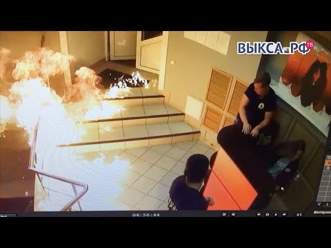 Выкса.РФ: ВВыксе пытались сжечь ночной клуб