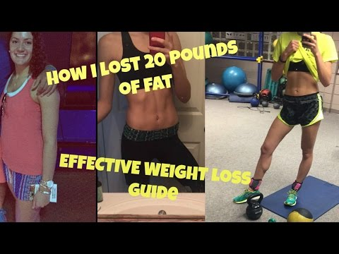 How I Lost 20 Pounds // MY FITNESS JOURNEY💛 🍌☀️