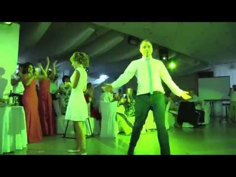 Оригинальный свадебный танец жениха и невесты