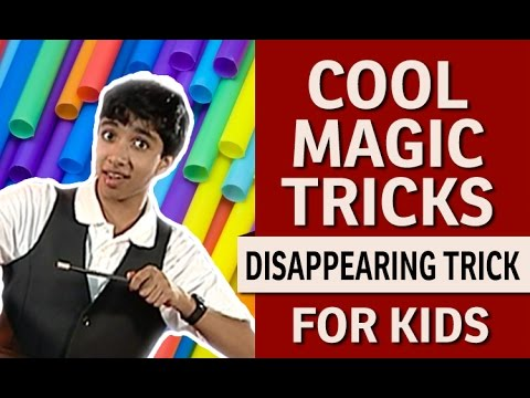 Magic Tricks Revealed - Disappearing Straw Trick, CAN ...