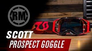 Scott Prospect Motorcycle Goggle