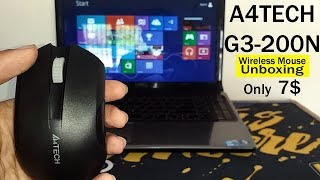 A4TECH G3-200N Wireless Mouse Unboxing