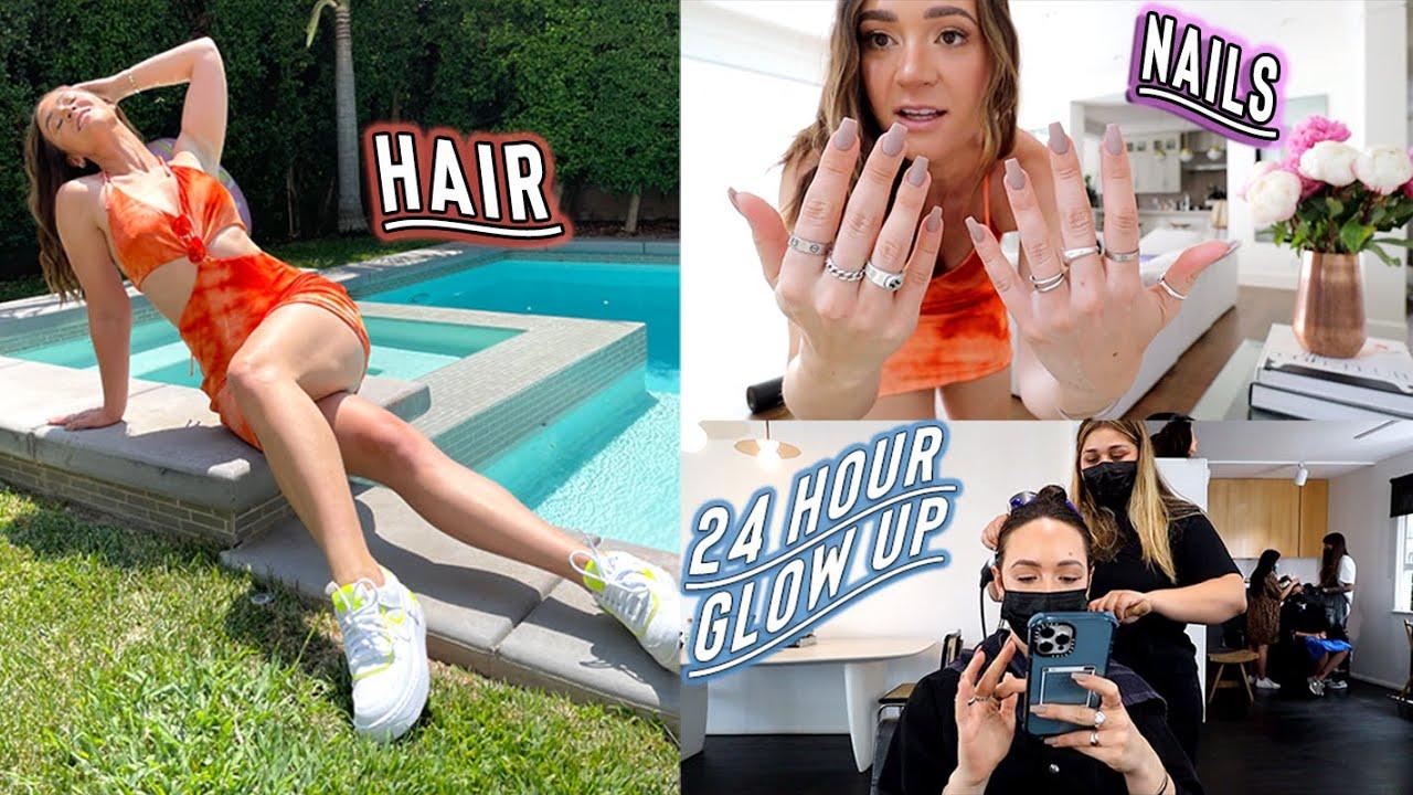 ig baddie glow up: new nails, hair, + vlog camera??