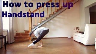 Как научиться спичаг / How to press up handstand