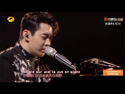 刘宪华双钢琴弹奏《Faded》 颜值与才华溢出屏幕《苏宁11.11嗨爆夜》【湖南卫视官方HD】