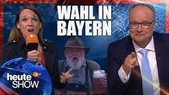 Bayern-Wahldebakel für die Groko: CSU abgestraft, SPD am Boden | heute-show vom 19.10.2018