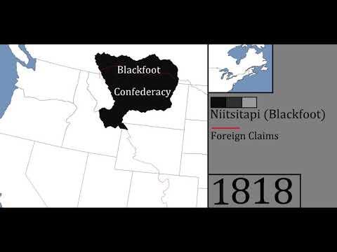 History Of The Blackfoot Confederacy, Niitsitapi - Every Year (0-2019 AD)