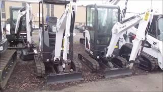 Bobcat E20 Excavator Walkaround