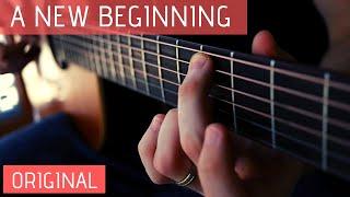 Slow Acoustic Guitar Instrumental - A New Beginning (Original)