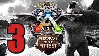 Ark Survival of the Fittest #3 GIFTIGER REGEN! :-( [Gameplay German | Let