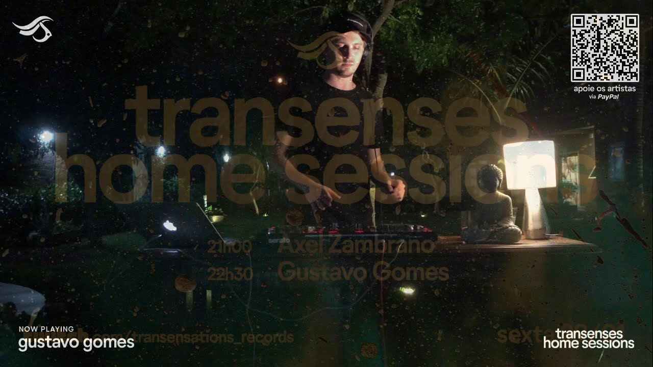 TRANSENSES Home Sessions #14 - Jan 21- Presents Gustavo Gomes