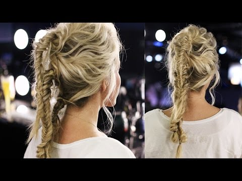 Combined Fishtail Braid