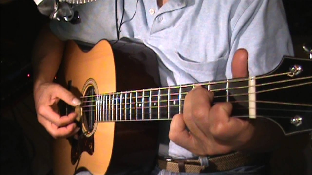 Do Re Mi Guitar Finger Pickin Youtube