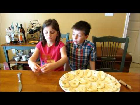 FASTNACHT DAY-HOW TO MAKE FRIED DOUGH EASY (FAT TUESDAY) Reese and Noah