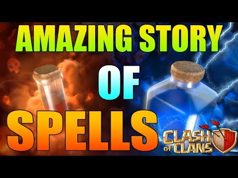 The Amazing Story Of Spells 💦 | Clash Of Clans (Hindi)