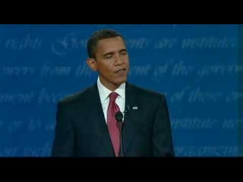 2008 Presidential Debate: Obama, McCain on Foreign Policy