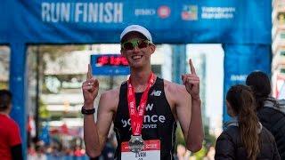 olympian evan dunfee walks a 3 10 marathon beats 96 per cent of field