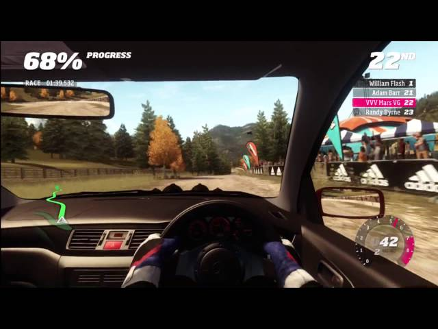 Forza Horizon Rally Beaumont Stage 1 - no comment run