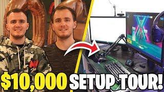 $10,000 GAMING SETUP / FLAT TOUR!!